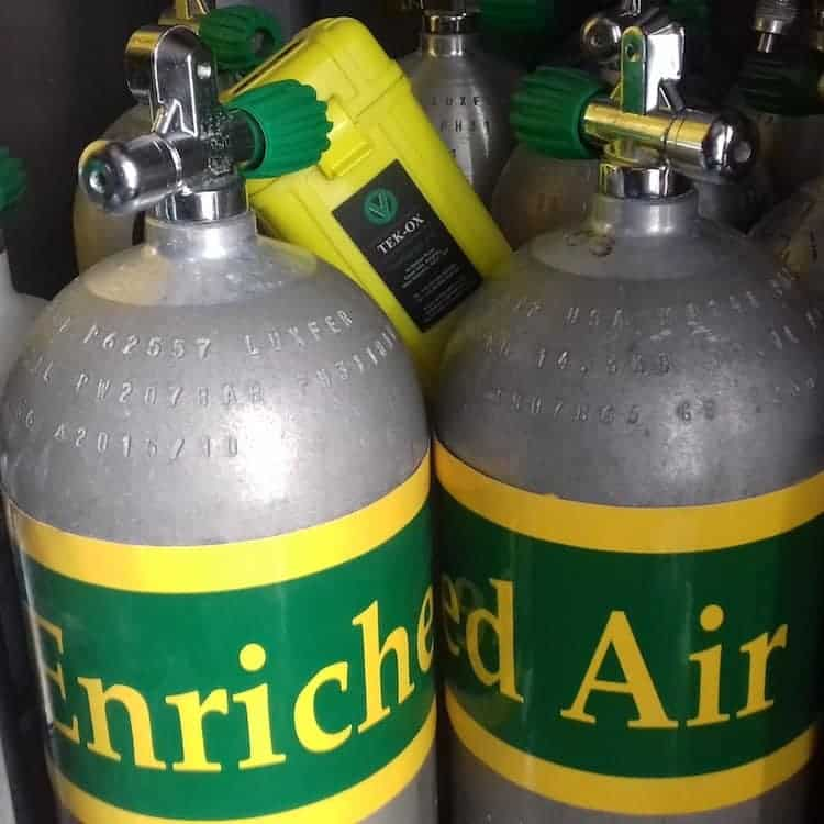 Enriched Air Nitrox dive specialty